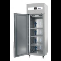 KBS Edelstahlkühlschrank KU 752, Edelstahl, mit Umluftkühlung und Beleuchtung, 60421025