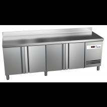 Kühltisch Ready KT4000 mit Aufkantung - 4 Türen - GN 1/1