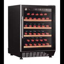 KBS Weinkühlschrank Bacchus 110 Exclusive-Line, schwarz, mit Stiller Kühlung und LED-Beleuchtung, 530141