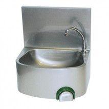 Handwaschbecken, halbrunde Form