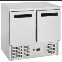 GastroStore - Kühltisch - 2 Türen - GN1/1 - Edelstahl - energiesparend