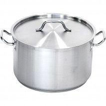 Suppentopf mittelhohe Form 22,4 Liter mit Deckel