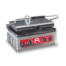 GMG Kontaktgrill 45x27 gerillt/glatt 2 Temperaturregler