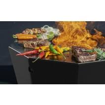 Ora - Feuerplatte - mit Grillfunktion