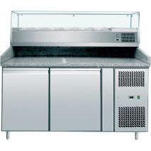 Pizzakühltisch 1500 inkl. Kühlaufsatz 1500