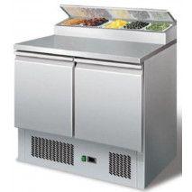 Saladette mit Kühlaufsatz PS200