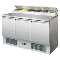 Saladette mit Kühlaufsatz PS300