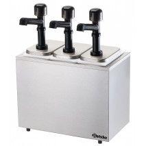 Bartscher Pumpstation mit 3 Pumpen 3x3,3 Liter