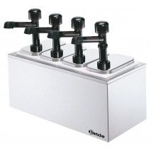 Bartscher Pumpstation mit 4 Pumpen 4x3,3 Liter