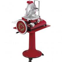 RETRO Aufschnittmaschine rot 35 cm vertikal Messer