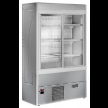 KBS - Wandkühlregal Aurin 120 mit Schiebetüren - Umluftkühlung