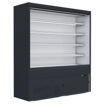 KBS - Wandkühlregal Filip 2580 mit Nachtrollo - Umluftkühlung