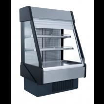 KBS - Wandkühlregal Pedro 1500 R - mit Nachtollo - Umluftkühlung