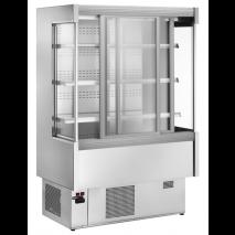 KBS - Wandkühlregal Pinto 200 mit Schiebetüren - Umluftkühlung