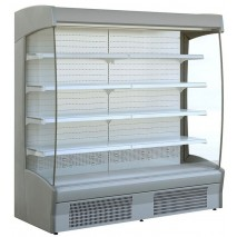 KBS - Wandkühlregal Zeus 1300 Elegance mit Nachtollo - Umluftkühlung