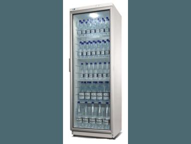 Glastürkühlschrank 350 Liter - Flaschenkühlschrank, Umluft