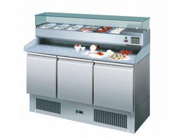 Pizzakühltisch 1400 inkl. Kühlaufsatz
