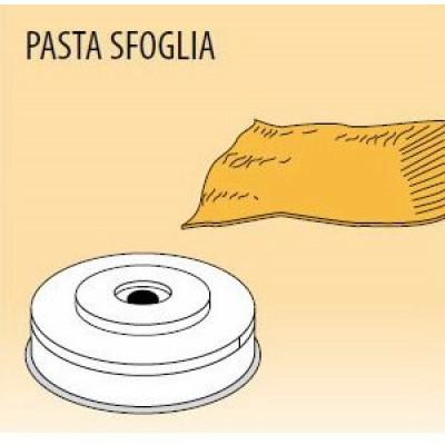 Nudelform Pasta sfoglia, für Nudelmaschine MPF/2,5 und MPF/4