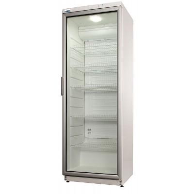 NordCap Glastürkühlschrank 290 Liter Flaschenkühlschrank Umluft