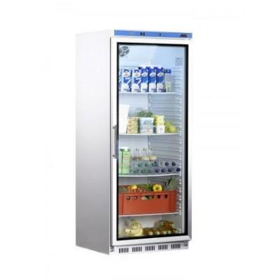 Saro Getränkekühlschrank Glastür Umluft 620 Liter