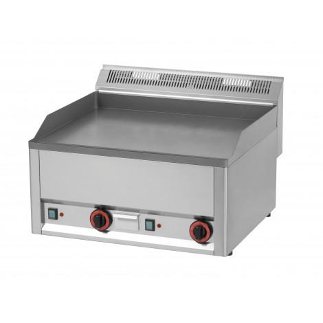 Grillplatte 660 glatt/gerillt, Elektro