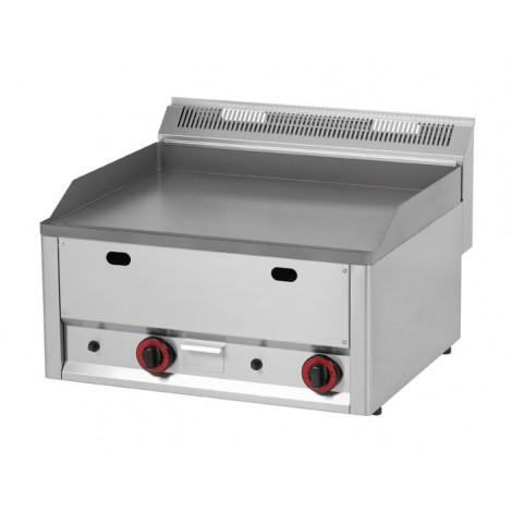 GGG Grillplatte 660 glatt/gerillt, Gas, FTHR-60GL
