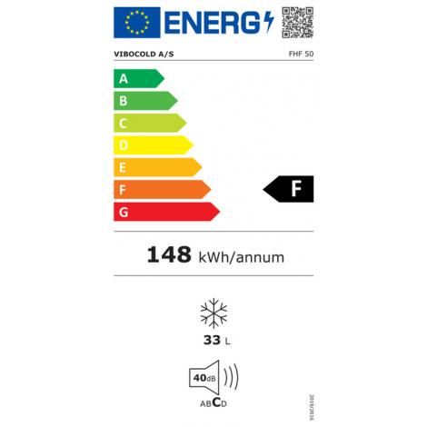 KBS Tiefkühlbox FHF 50, weiss, mit Stiller Kühlung und keine Beleuchtung, 70031