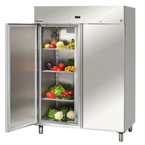 Bartscher Kühlschrank 1400 Liter - Edelstahl & Umluft