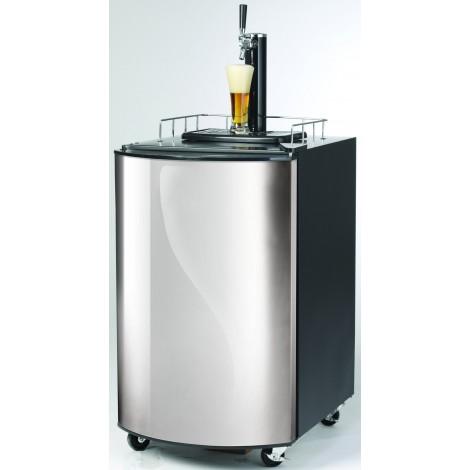 Mobiler Bierkühler 50 L mit Zapfhahn