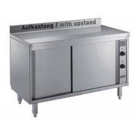 Wärmeschrank 1600x700 mit Aufkantung