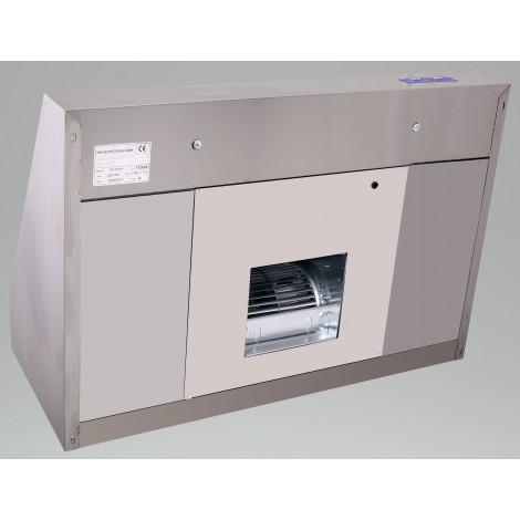 Induktions-Deckenhaube Typ A 2800 x 1800