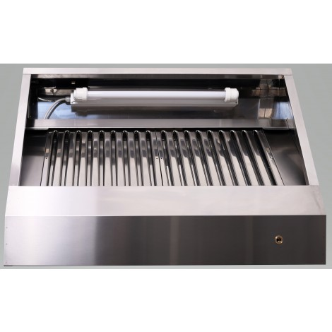 Induktions-Deckenhaube Typ A 3600 x 1800