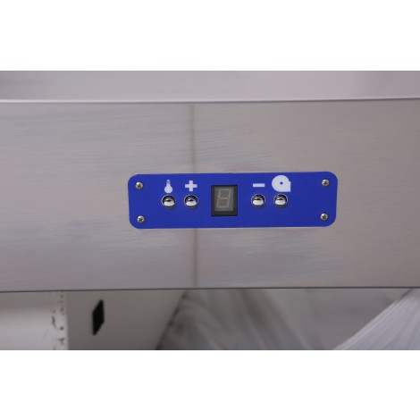 Induktions-Wandhaube Typ A 2800 x 1100