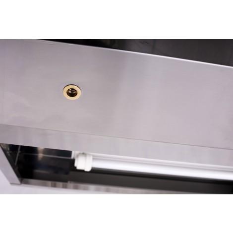 Kasten-Wandhaube Typ B 2400 x 1100