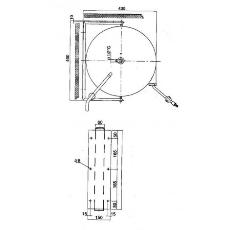 Klarco Waschbrause mit Sprühpistole Maxi Reel M10