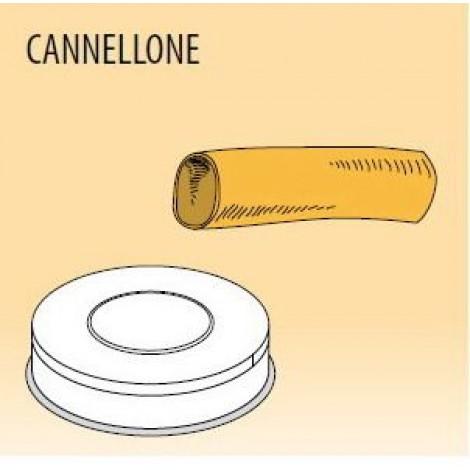 Nudelform Cannellone per ripieno, für Nudelmaschine MPF/2,5 und MPF/4