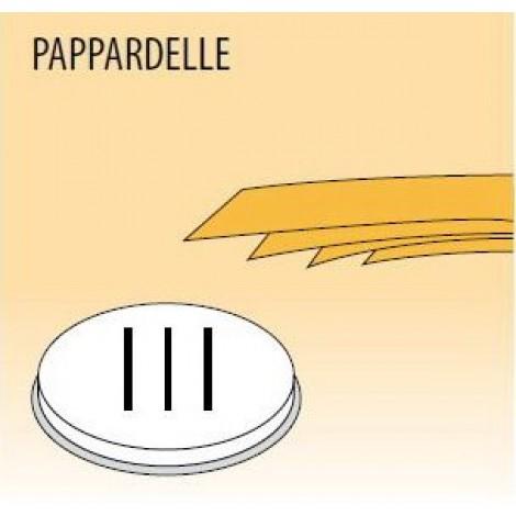 Nudelform Pappardelle, für Nudelmaschine MPF/2,5 und MPF/4