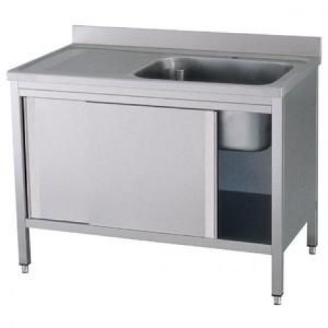 Spülschrank Pro 1400x700 mit 1 Becken rechts