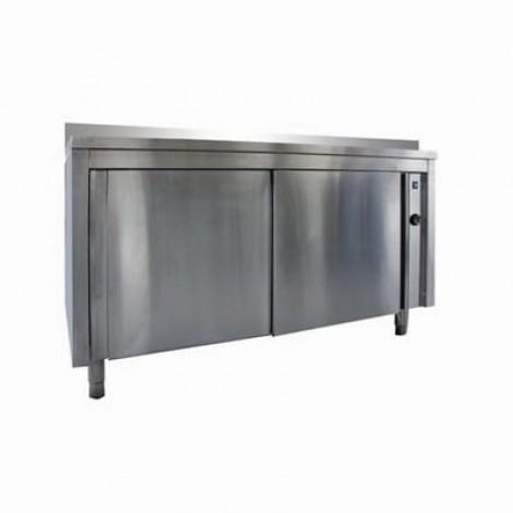 Wärmeschrank Pro 1400x600 mit Aufkantung