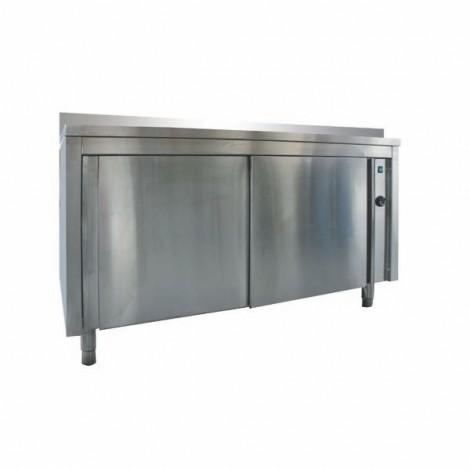 Wärmeschrank Pro 1600x700 mit Aufkantung