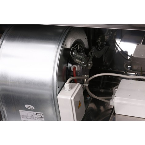 Wandhaube Typ B 2000 x 700 mit Motor und Regler