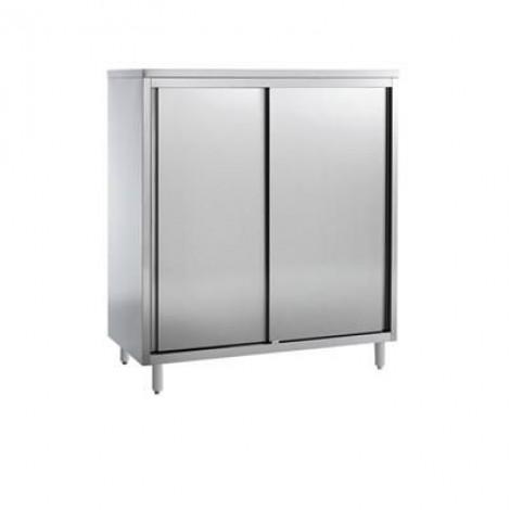 Edelstahl Geschirrschrank Pro 1800x700