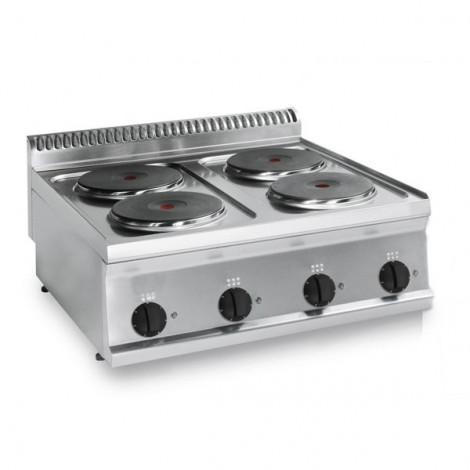KBS Elektro-Kochfläche 10,4kW 4 Platten Tischgerät, 10311017