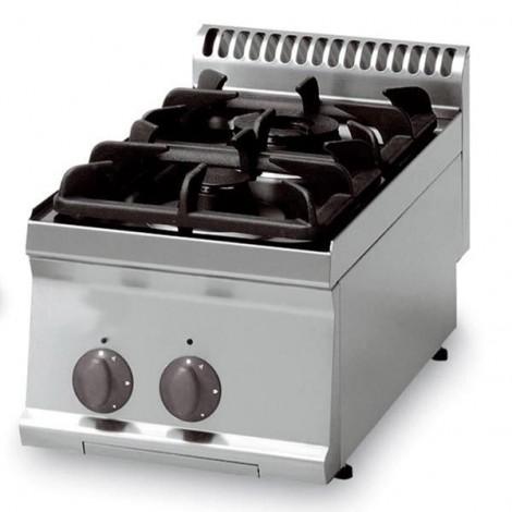 KBS Gas-Kochfläche 10,5kW 2 Brenner Tischgerät, 10321010