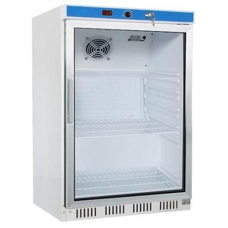 Getränkekühlschrank 200 Liter Glastür Umluftkühlung