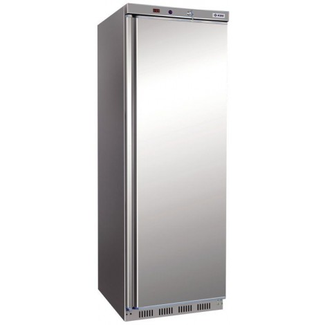 KBS Tiefkühlschrank KBS 402 TK CHR, Edelstahl, mit Stiller Kühlung und keine Beleuchtung, 347416