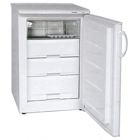 KBS Tiefkühlschrank mit Volltür F 100, weiss, mit Stiller Kühlung und keine Beleuchtung, 9190011