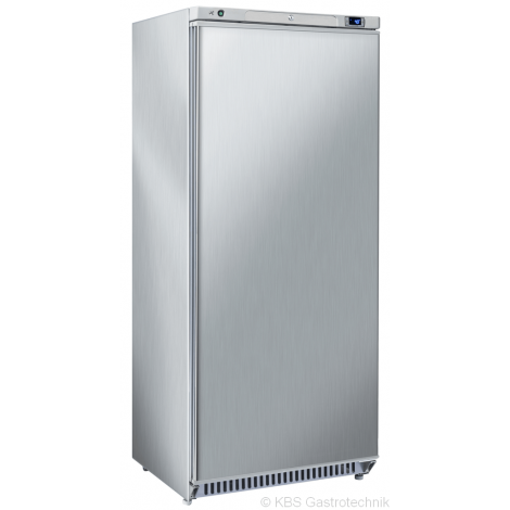 Lagerkühlschrank 600 Liter Umluftkühlung Edelstahl GN2/1