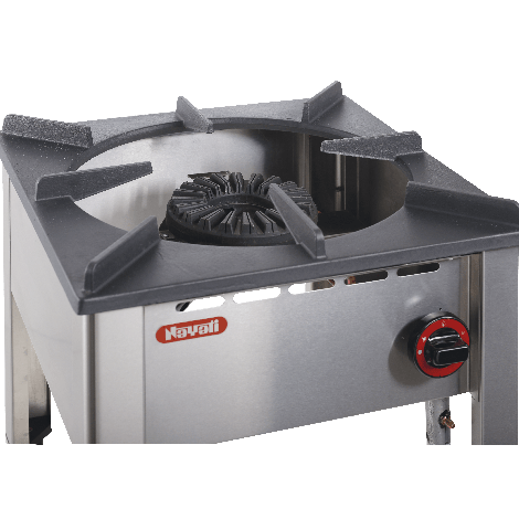 Nayati Hockerkocher  - Gas  13 KW - Wok