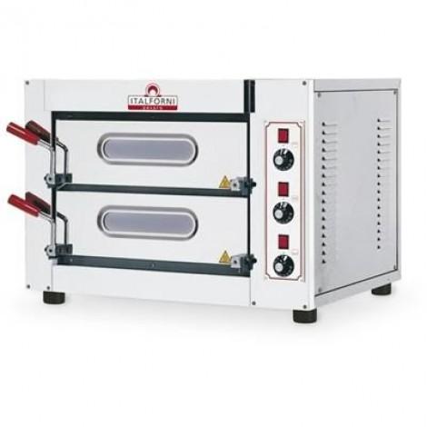 KBS Pizzaofen City für 4+4 Pizzen bis ø25 cm elektro 6 kW, 5052.1001